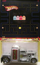"Hot Wheels CUSTOM CONVOY ""Pac-Man"" Real Riders Limited Edition 1/25 Made!"