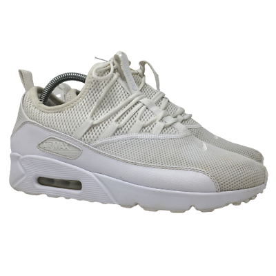 Nike Mens Air Max 90 EZ Shoes Sneakers Triple White Style A01745-100 US Size 8.5