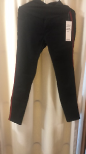 7f7264280624c Image is loading S-O-N-G-Black-Maternity-Skinny-Rayon-Jeggings-Jeans-with-