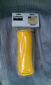NEW Dayton Yellow 185 PSI Nylon Recoil Air Hose