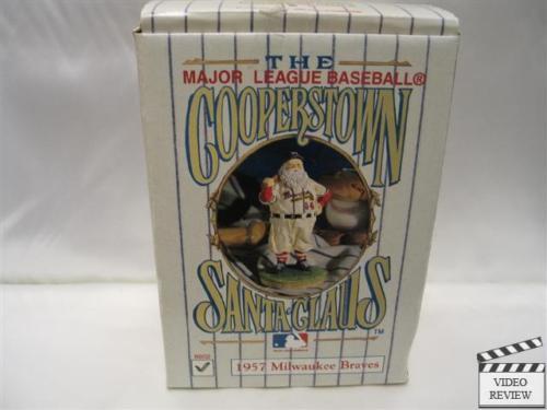 Cooperstown Santa 1957  Milwaukee Braves   Boxed