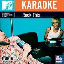 Singing Machine Karaoke: Karaoke: Mtv Rock This Karaoke Audio CD