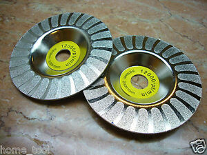 100mm-4-inch-4-THK-Diamond-coated-grinding-grind-disc-round-wheel-Grit-100