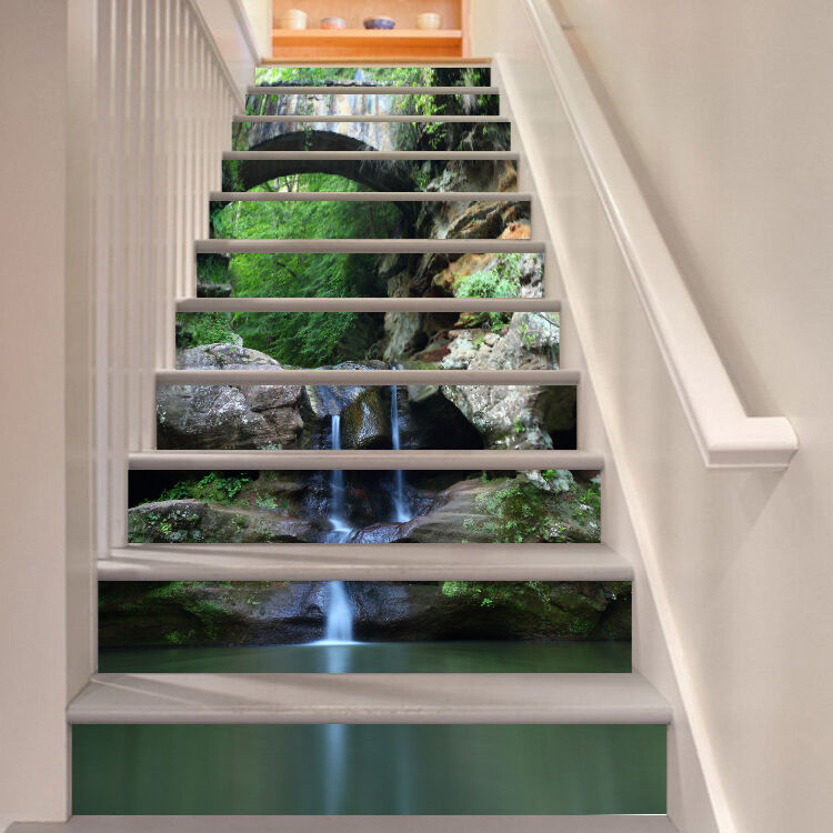 3D Landscape 362 Stair Risers Decoration Photo Mural Vinyl Decal WandPapier AU