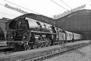 Foto 20x30+10x15+Datei DR 01 0525-4 Leipzig Hbf 1977 #D15921