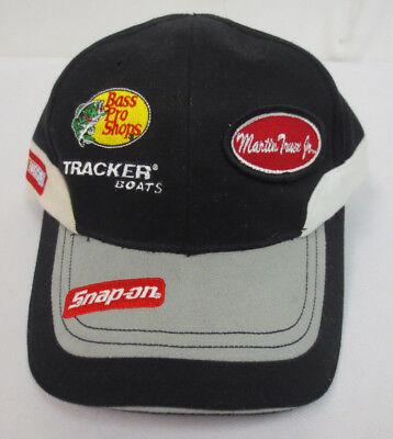bbc827cf912cb MARTIN TRUEX JR HAT CAP VINTAGE RETRO VTG CHASE NASCAR BASS PRO SHOPS MENS   1