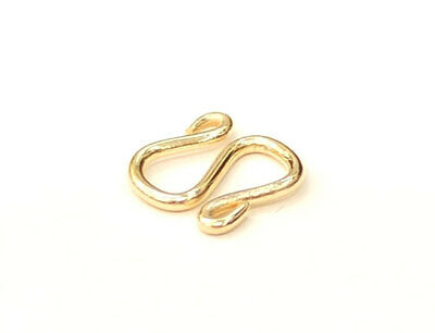 SOLID  22K 22KT GOLD M CLASP with jump ring  for  23K 24K 1//4 Baht NECKLACE LOCK