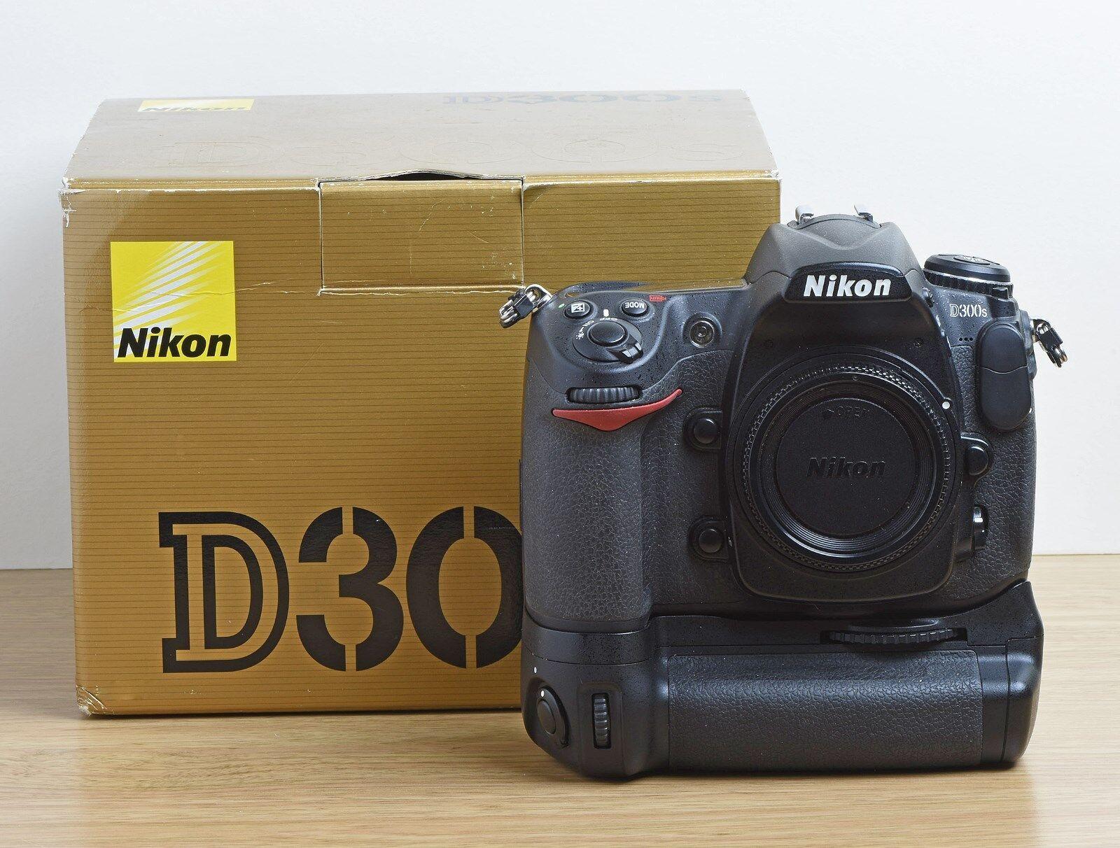 Nikon D D300S 12.3MP Digital SLR Camera - Black (Body only) | eBay