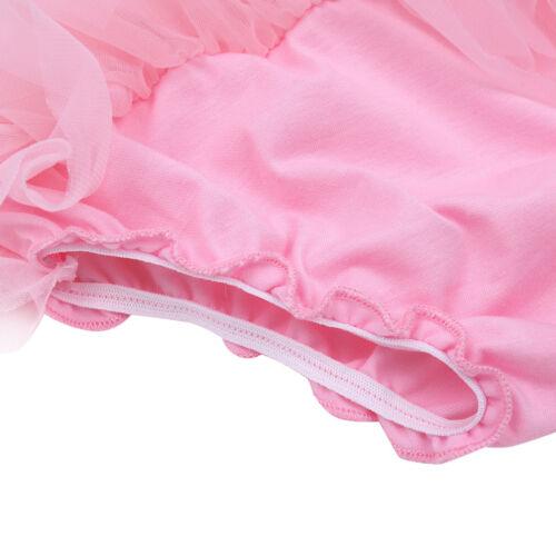 Newborn Baby Girl Ruffle Bloomers Tutu Skirt+Flower Headband Party Outfits 0-24M