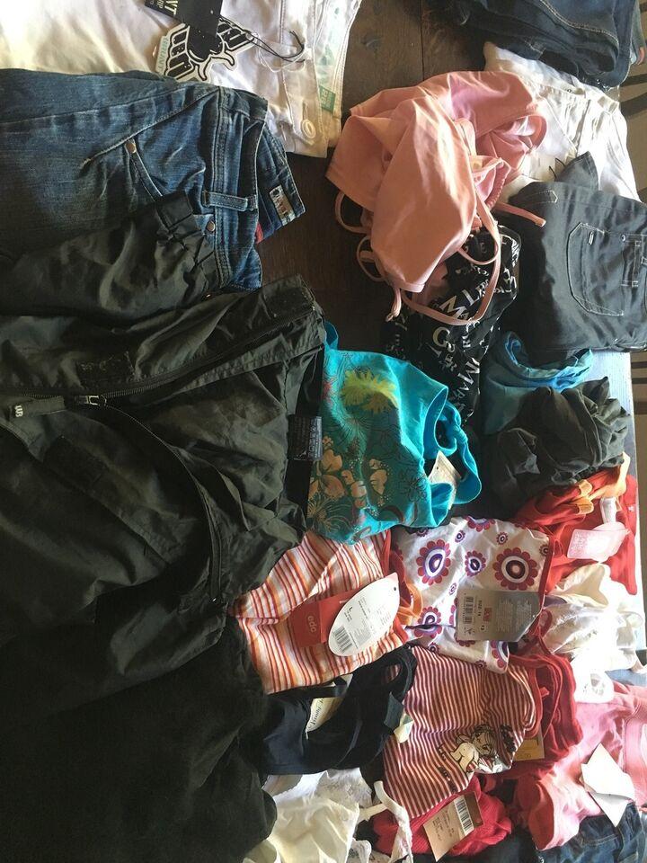 Blandet tøj, Kæmpe Stakke af tøj, Abercrombie queens levis