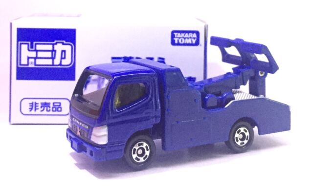 Japan Tomy Tomica Mitsubishi Fuso Canter Tow Truck Diecast Not For