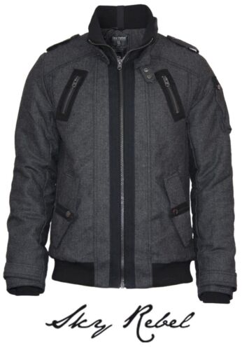 Sublevel By court Rebel homme pour laine Manteau Sky en XBdwYqY