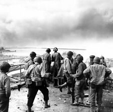 6x4 Gloss Photo ww46A Normandy English Channel Cherbourg 1944 35