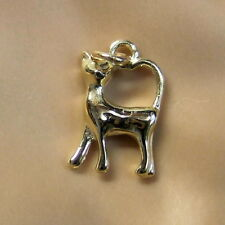 9ct gold new lucky cat  charm or pendant
