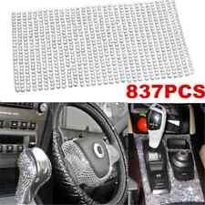 Luxury 837PCS Bling Crystal Rhinestone Car Styling Sticker Decor Accessories 3mm