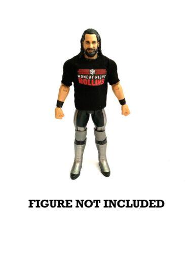 Wwe Seth Rollins 'lunedì sera Rollins's custom shirt per Figure Mattel.