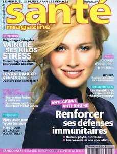 Dynamique Sante Magazine N°408 Dec 2009:renforcer Ses Defences Immunitaires