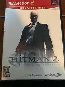 Hitman 2 Silent Assassin Sony Playstation 2 Ps2 Video Game