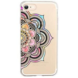 Coque Iphone 7 8 SE 2020 mandala 3 pastel