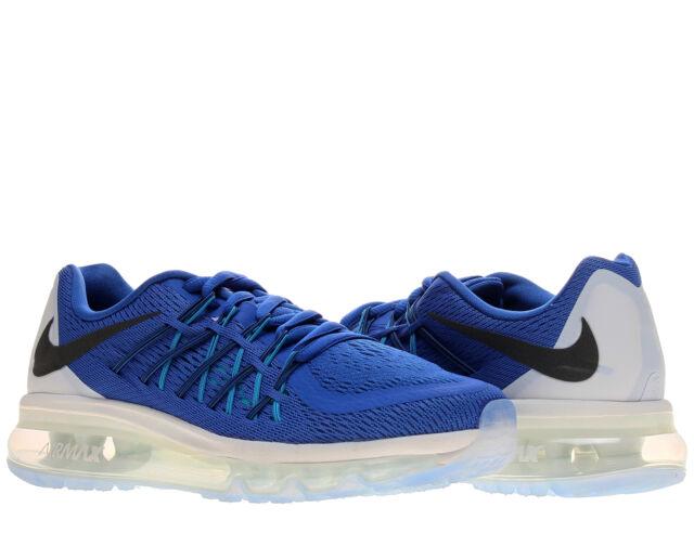 Nike Air Max 2015 (GS) Game RoyalWhite Boys' Running Shoes 705457 401