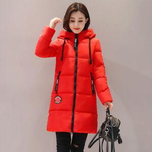 aa3917a226eb7 La imagen se está cargando Chaqueta-de-mujer-plumon-capucha-abrigo -comodo-calido-