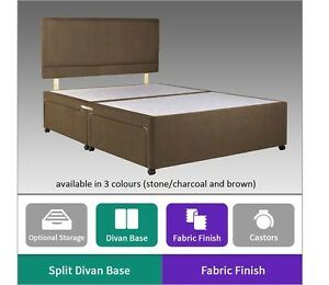 FAUX-SUEDE-DIVAN-BED-BASE-ALL-SIZES-2FT6-3FT-4FT-4FT6-5FT-6FT-STORAGE-OPTIONS