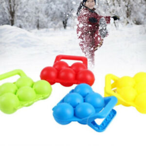 Classical-Snowball-Maker-Snowball-Fight-Sand-Mud-Mold-Clip-Toy-Color-Random