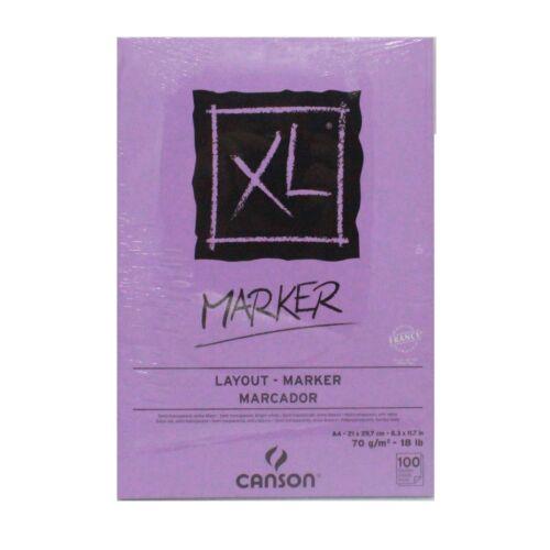 CANSON XL A4 marker 70gsm 100 sheet