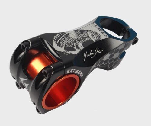 17° stems 31.8//35*60mm bar Stem Black KRSEC MTB XC AM DH Road Bike Aluminum
