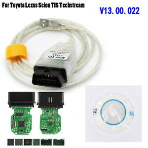 MINI VCI USB Interface OBD2 Diagnostics Cable For TOYOTA//LEXUS TIS Techstream
