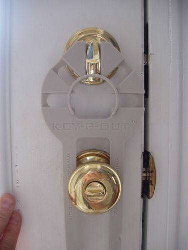 Who has Keys 2 Ur Door?Anti-Lock Bump Key Device 4 Deadbolt KeepOut KeyPout