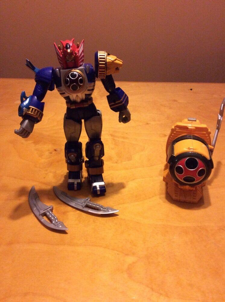 Power Rangers NINJA STORM LIGHTNING Power Thunder STORM Megazord Morpher
