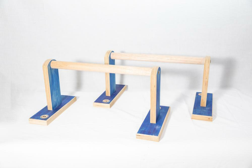 Awesome Woodys Parallette Bars - Whole Body Training - Wooden Training Tool
