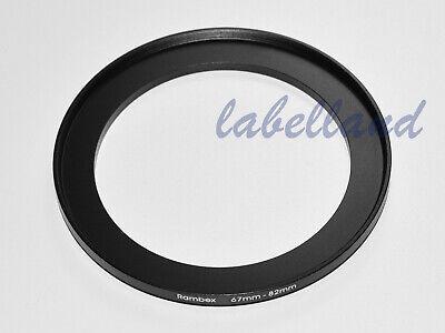Anillo adaptador de filtro 55mm-58mm convierte Hilo de lente de 55mm a 58mm de 55-58 Elevador UK
