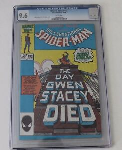 CGC 9.6 Marvel Tales No. 192, Reprints Amazing Spiderman Gwen Stacey Death Story