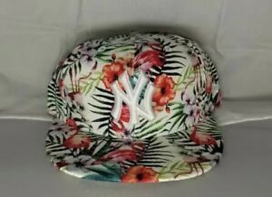1916f986e29cc New York Yankees New Era MLB Troppin Hot Floral 9FIFTY Snapback Hat ...