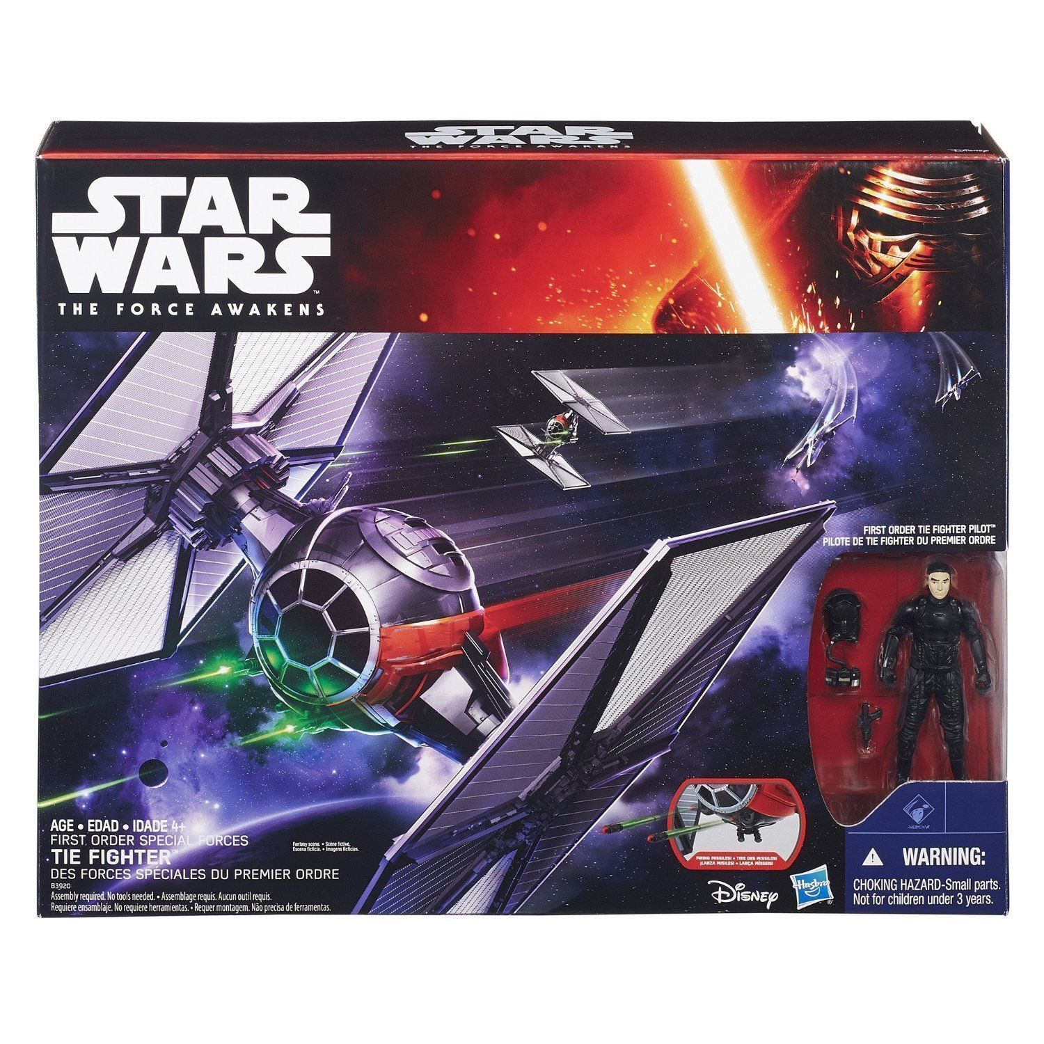 Star wars Hasbro First Order Special Forces TIE Fighter Action Figure