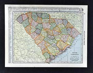 Columbus South Carolina Map.1911 Hammond Map South Carolina Columbus Charleston Beaufort