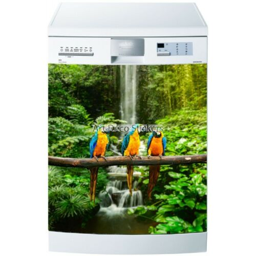 Stickers Dishwasher or Magnet Parrots 5518