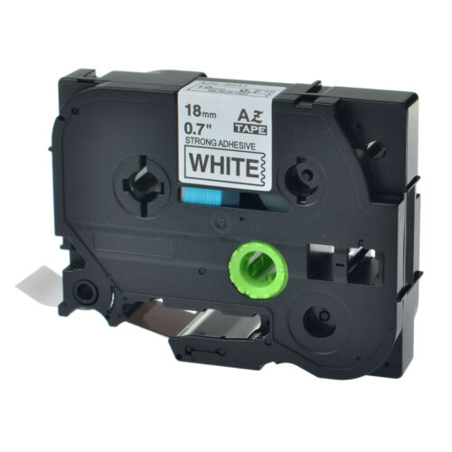 TZe-S241 TZ-S241 Black On White Label Tape For Brother P-Touch Srong Adhesive