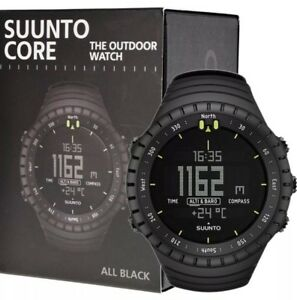 Suunto-Core-All-Black-Military-Outdoor-Sports-Watch-BRAND-NEW-SS014279010