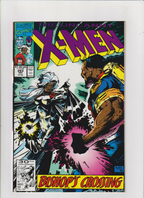 Uncanny X-Men #283 NM- 9.2 Marvel Comics 1991 Storm 1st Full Bishop app.