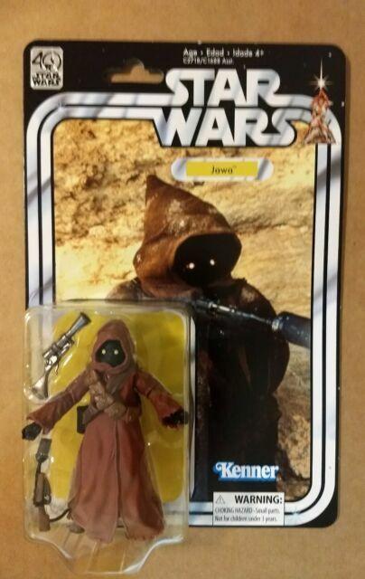 New JAWA 40th Anniversary Figure The Black Series 6 inch Star Wars Wave 2