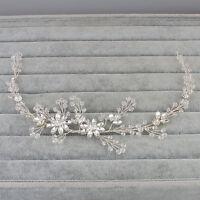 New Vintage Wedding Bridal Crystal Rhinestone Hair Accessories Headband Tiara