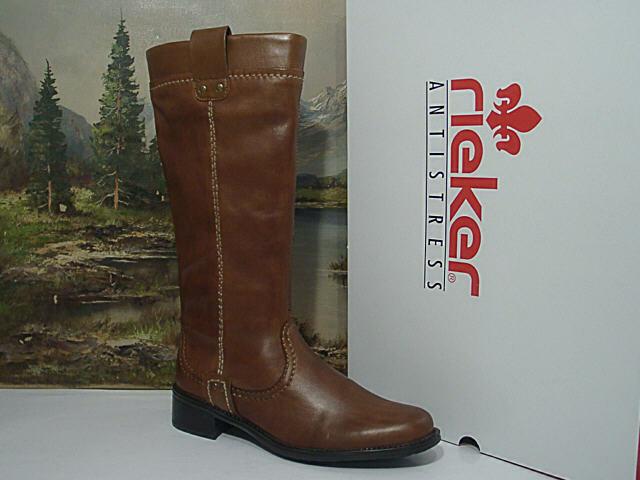 Rieker Z7350 Z7350 Z7350 -24 stövlar läder Winter stövlar kvinnor skor Storlek 36 bspringaaa Neu5  grossist billig och hög kvalitet