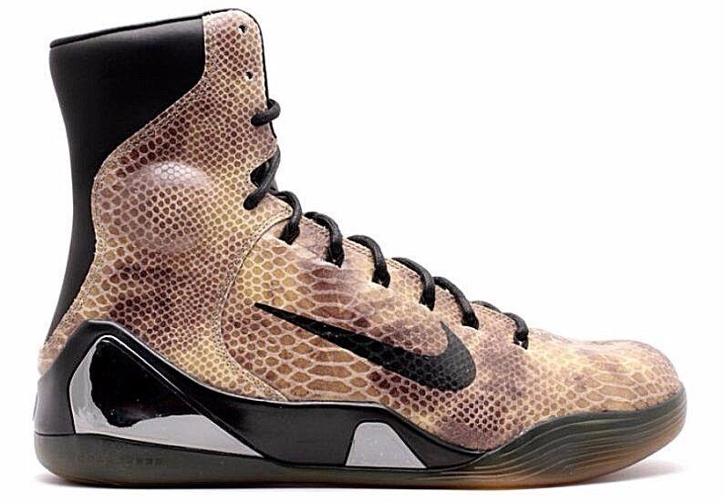 Nike Kobe IX QS 9 alta KRM ext QS IX Negro Snake Rojo Mamba 716993 716616 patadas barato y hermoso zapatos de moda 98df53