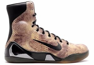 NIKE KOBE IX 9 HIGH KRM EXT QS BLACK Snake Red MAMBA 716993 716616 Shoes Kicks