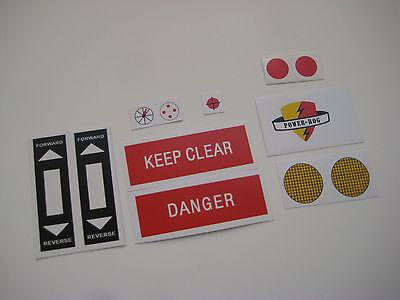 Joe//Action Man MEDIC HELMET Stickers G.I B2G1F