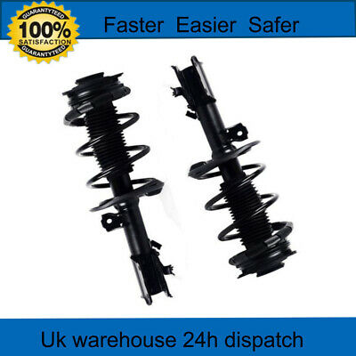 1 Pair Front Complete Shock Strut Absorbers for 2008-2012 Nissan QASHQAI//Rogue