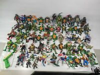 HUGE LOT OF TEENAGE MUTANT NINJA TURTLES ACTION FIGURES TMNT PLAYMATES